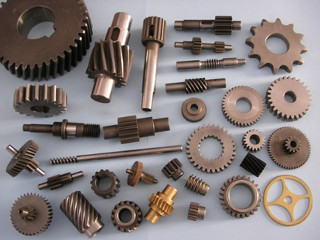spur gears, gelical gears, cogowheels, pinions, shafts, axles, sprockets